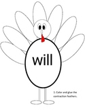 Contractions using WILL