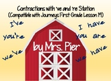 Contractions 've and 're Station (Compatible w/ Journeys F