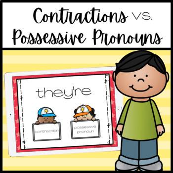 Contractions vs. Possessive Pronouns PowerPoint Lesson
