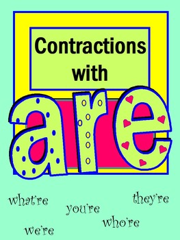 Contractions with Are