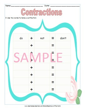 Contractions with Assessment