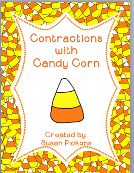Contractions with Candy Corn