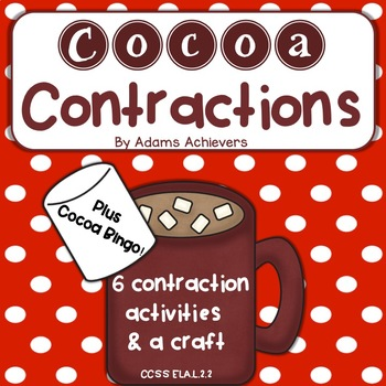 Contractions with Cocoa Theme