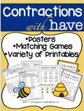 Contractions with 'Have' Printables and Activities