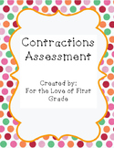 Contractions with NOT Assessment