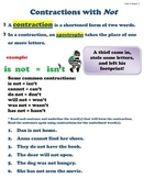 Contractions with Not - Grade 3 - Wonders Reading Unit 4 Week 2