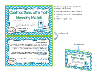 Contractions with Not Memory Match Activity
