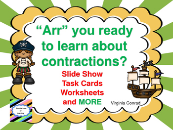 Contractions with a Pirate Theme