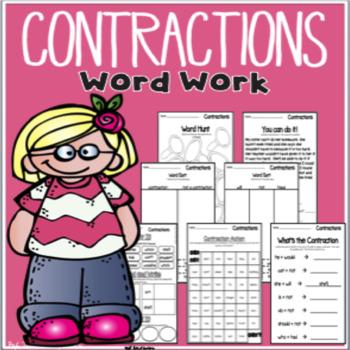 Contractions word work