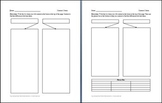 Contrasting 2 Items Graphic Organizer
