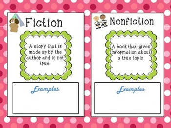 Contrasting Fiction and Nonfiction