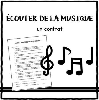 Contrat de musique