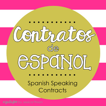 Contratos de Espanol - Spanish Speaking Contracts!