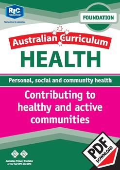 Contributing to healthy and active communities – Foundation