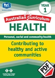 Contributing to healthy and active communities – Year 1