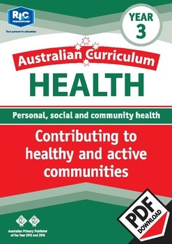 Contributing to healthy and active communities – Year 3