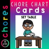 Chore Chart Cards - EDITABLE slide