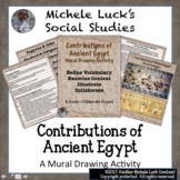 Contributions of Ancient Egypt Mural Activity Egyptians Vo