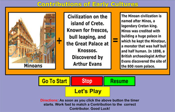 Contributions of Early Cultures - Bill Burton