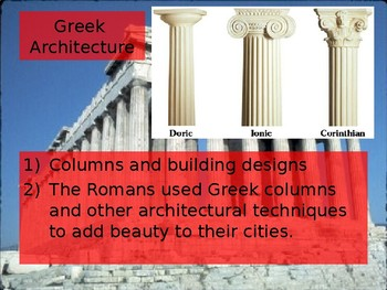 Contributions to Rome
