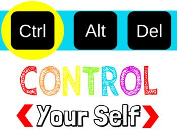 Control Alt Delete Posters