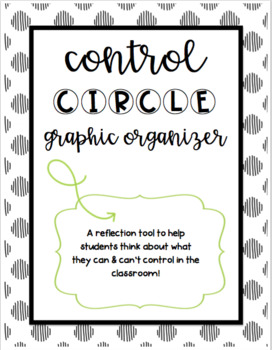 Control Circle Graphic Organizer
