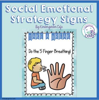 Take a Break Area Signs