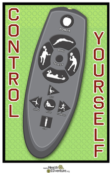 Exercise Poster: TV Remote