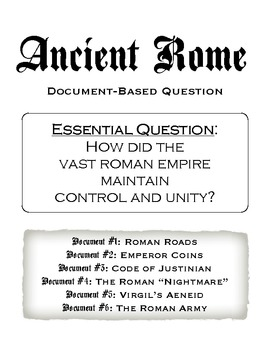 Control and Unity in Ancient Rome DBQ