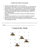 Control the Mole - A 2-Player Game to Practice Conversions (L, mL and g, Kg)