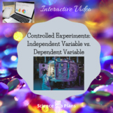 Controlled Experiments- Independent variable vs. Dependent