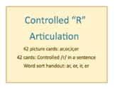 Controlled R Articulation: Cards, Sentences and Sort