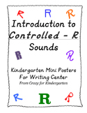 "Controlled ""R"" Introduction Sound Posters"