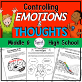 Emotional Regulation Activities for Middle & High School