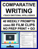 Comparative Essay Writing & Elaboration Practice with Film Clips