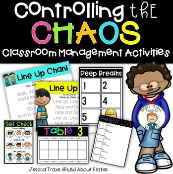 Controlling the Chaos {Classroom Management Activities}