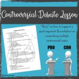 Controversial Debate Lesson