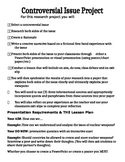 Common Core Controversial Issue Unit Outline