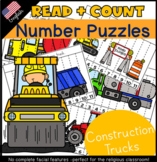 Construction Read & Count Number Puzzles