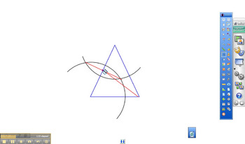 Contruction of the Centroid of a Triangle