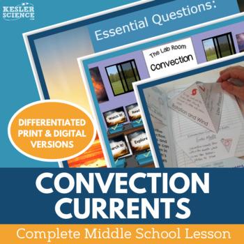 Convection Currents Complete 5E Lesson Plan