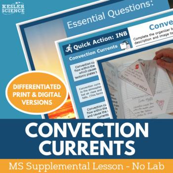 Convection Currents - Supplemental Lesson - No Lab
