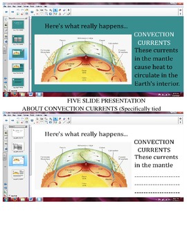Convection Currents/Plate Tectonics Package