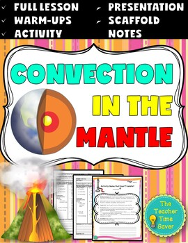 Convection in the Mantle Lesson (Presentation, notes, and activity)