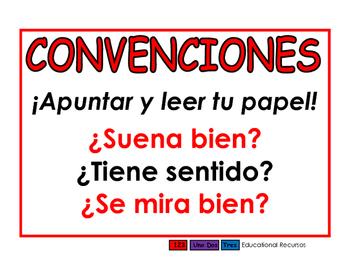 Convenciones rojo
