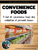 Convenience Foods presentation & digital student questions: intro and evaluation