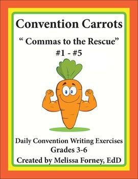 Commas for Grades 3 - 6