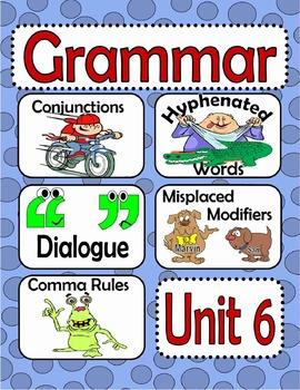 Grammar Activities for Unit 6