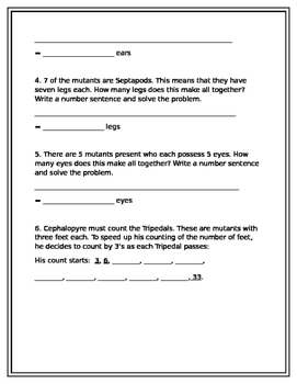 Convention of Mutants Multiplication Word Problems
