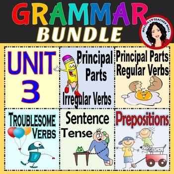 Grammar Unit 3, Verbs